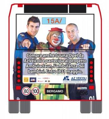 campagna pubblicitaria per la realizzazione dell'ambulaclaun 1
